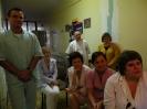 Wizyta uczniów LZK na oddz. neurochirurgii :: obraz 17